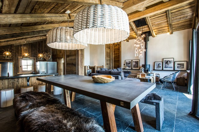 High Standing Chalet - Chamonix - Dining room