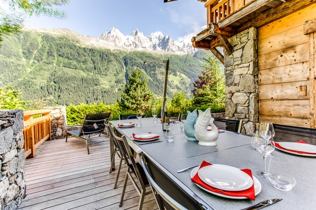 Traditional chalet - Chamonix - Terrace