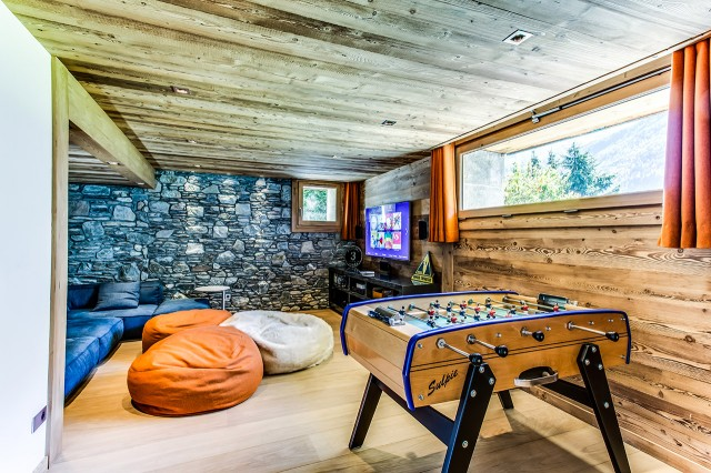 Traditional chalet - Chamonix - Chill out and game room