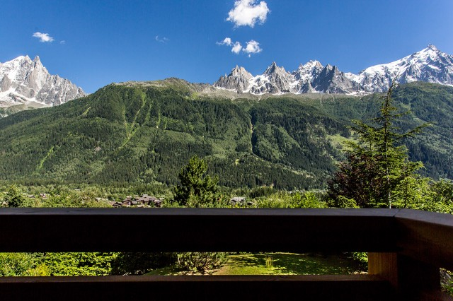 Traditional chalet - Chamonix - View