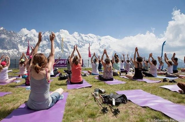 Yoga festival 2017 - Photo Chamonix Mont Blanc